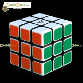 Cubos Rubik Fangshi Illusion 3x3 Negro Blanco