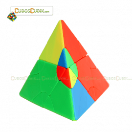 Cubos Rubik FS Lim Pyraminx 2x2 Transform Colored