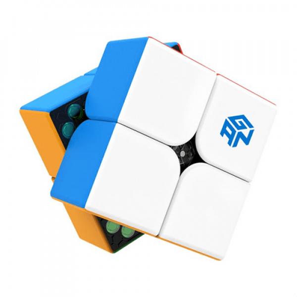 Cubos Rubik 2x2 GAN 251 Magnetic Colored