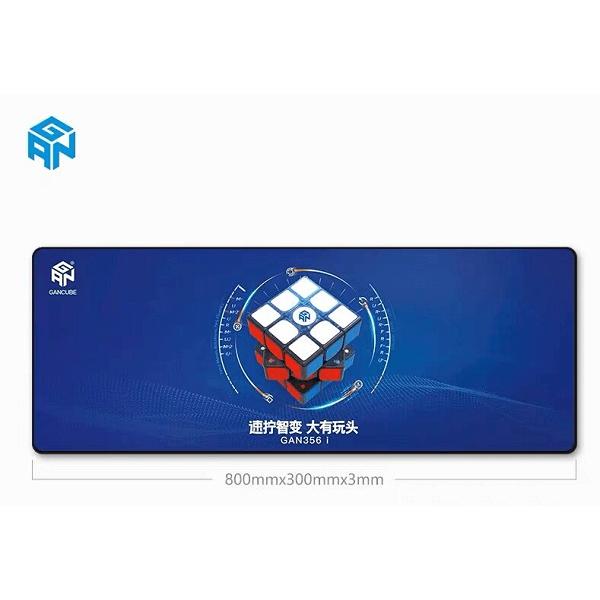 Tapete para Cubos Rubik GAN Azul Grande