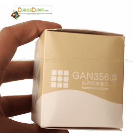 Cubos Rubik GAN 356 S Lite Base Negra