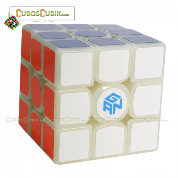 Cubo Rubik GAN 3x3 356 Air Master Base Milk