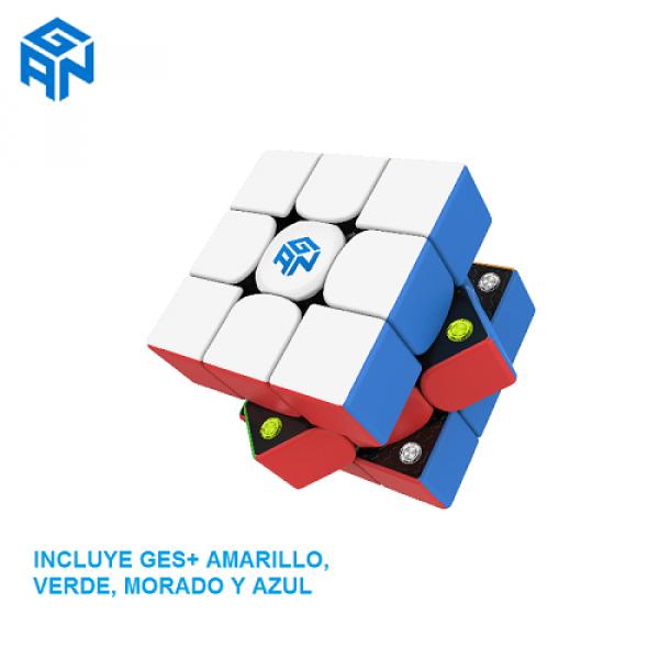 Cubos Rubik GAN 356 M Colored GES+
