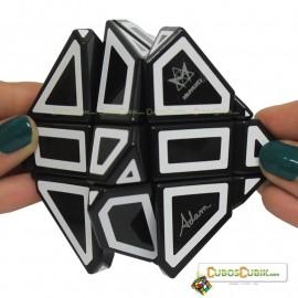 Cubos Rubik Mefferts Ghost Negro Contornos Blancos