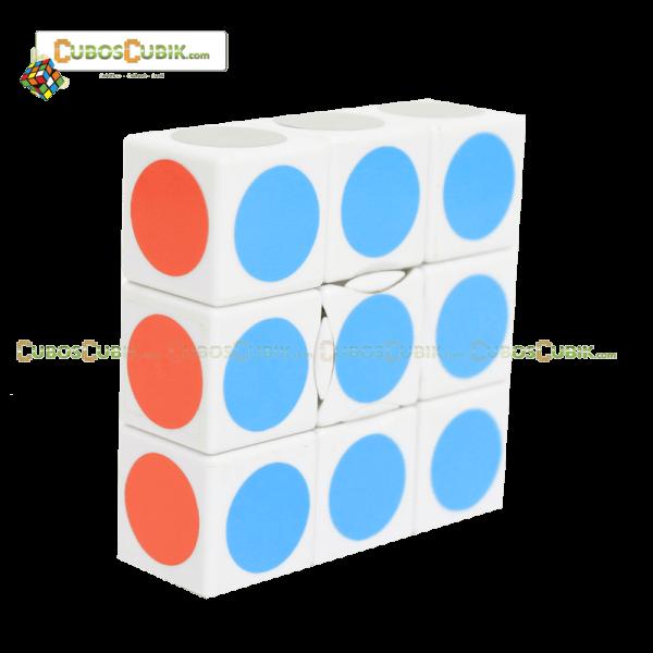 Cubos Rubik Lanlan Super Floppy 1x3x3 Base Blanca