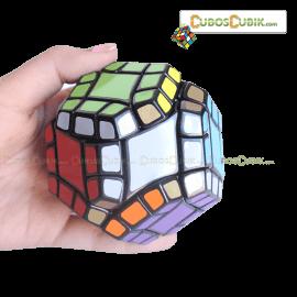 Cubos Rubik LanLan Axis Dodecaedro Negro