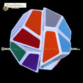Cubos Rubik LanLan Dodecaedro 2x2 Base Blanca