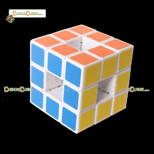Cubos Rubik Lanlan 3x3 Void Base Blanca Sin centros