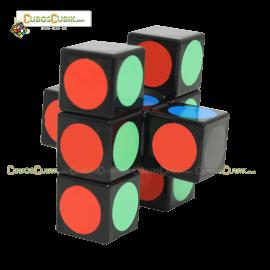 Cubos Rubik Lanlan Super Floppy 1x3x3 Base Negra