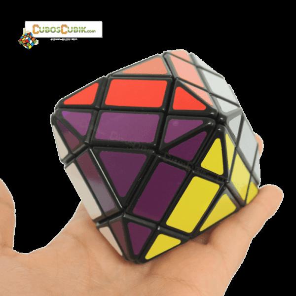Cubos Rubik LanLan 4x4 Octahedron V2 Base Negra