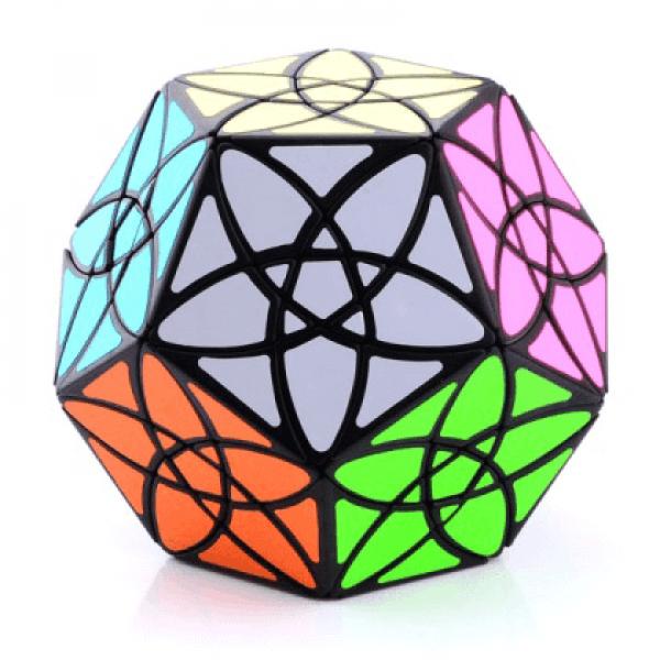 Cubos Rubik MF8 Bauhunia Dodecahedron Base Negra