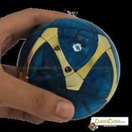 Cubos Rubik MegaMinx Ball Satinado Verde Dorado Calvins