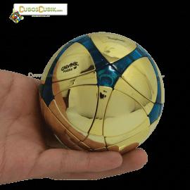 Cubos Rubik MegaMinx Ball Satinado Dorado Verde Calvins