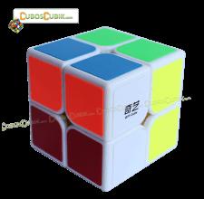 Cubos Rubik MoFangGe 2x2 QiDi Base Blanca