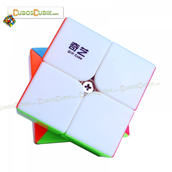 Cubos Rubik MoFangGe 2x2 QiDi Colored
