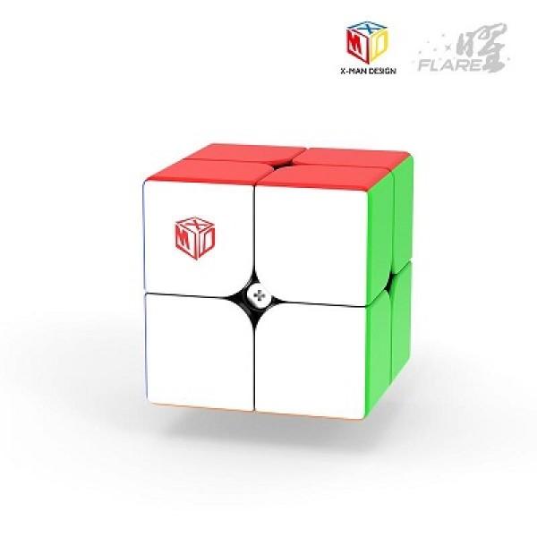 Cubos Rubik MFG Xman Flare 2x2 Magnetic Colored