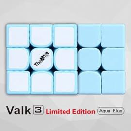 Cubo Rubik MoFangGe 3x3 The Valk 3 Base Azul Aqua