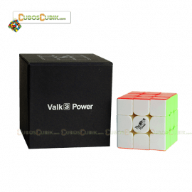 Cubo Rubik MoFangGe 3x3 The Valk 3 Power Blanco