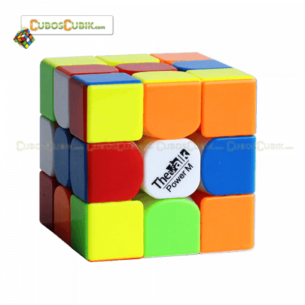 Cubo Rubik MoFangGe 3x3 The Valk 3 Power M Colored