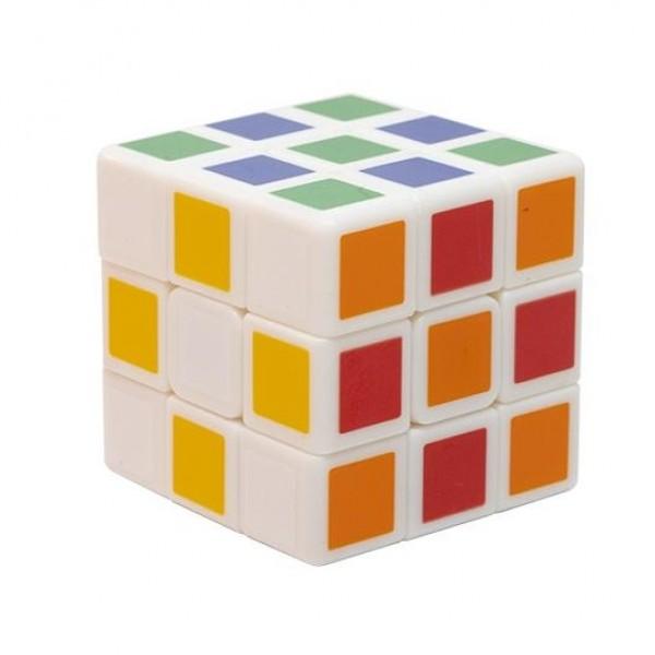 Cubo Rubik Qiyi 3x3 3 cm Blanco