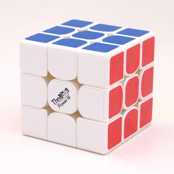 Cubo Rubik MoFangGe 3x3 The Valk 3 Power M Base Blanca