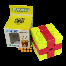 Cubos Rubik Qiyi 3x3 UT Cube Colored