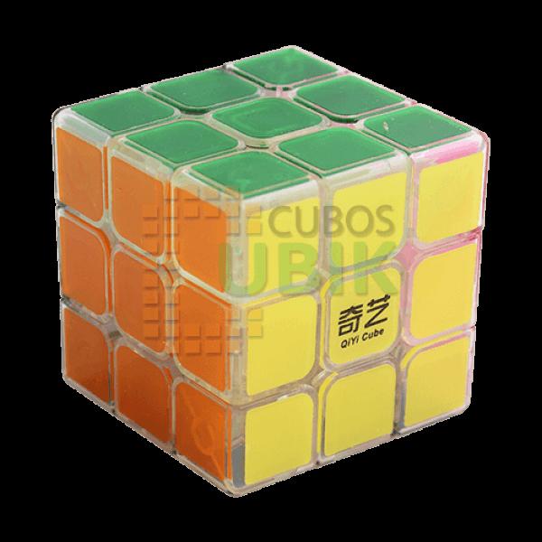 Cubo Rubik MoFangGe 3x3 Sail 60 mm Transparente