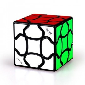 Cubo Rubik QiYi Fluffy 3x3 Negro