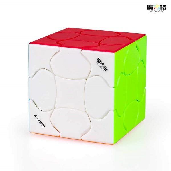 Cubo Rubik QiYi Fluffy 3x3 Colored