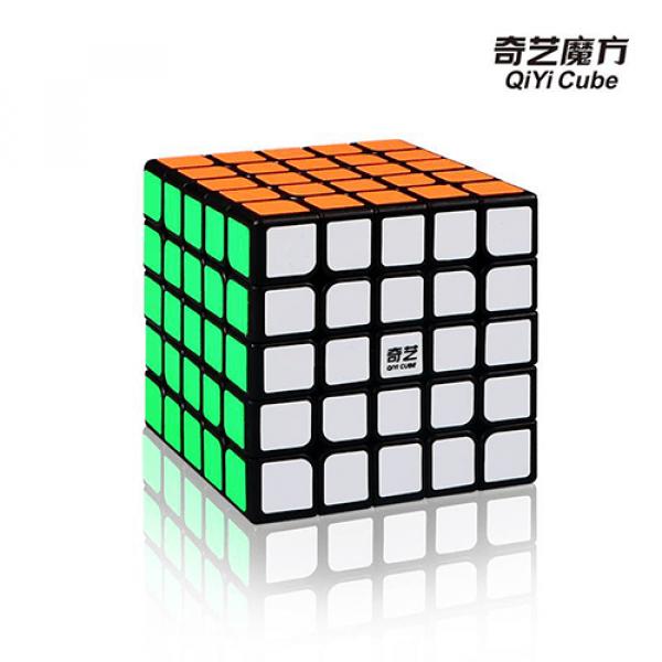 Cubos Rubik MoFangGe QiYi QiZheng 5x5 negro