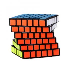 Cubos Rubik MoFangGe QiYi QiFan 6x6 Negro