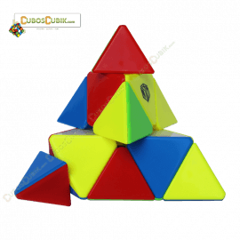 Cubos Rubik MoFangGe Pyraminx Magnetic Colored