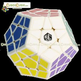 Cubos Rubik MoFangGe Megaminx Galaxy Concavo Blanco