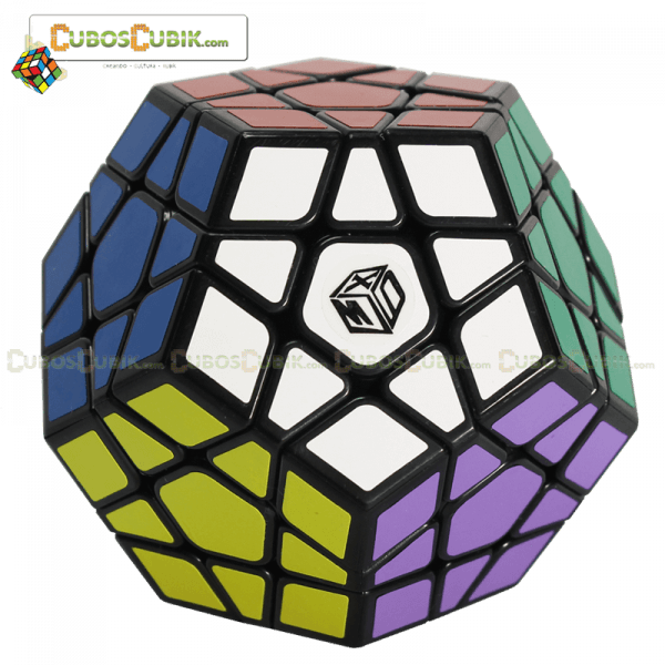 Cubos Rubik MoFangGe Megaminx Galaxy Plano Negro