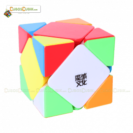 Cubos Rubik Moyu Skewb Magnetic Colored