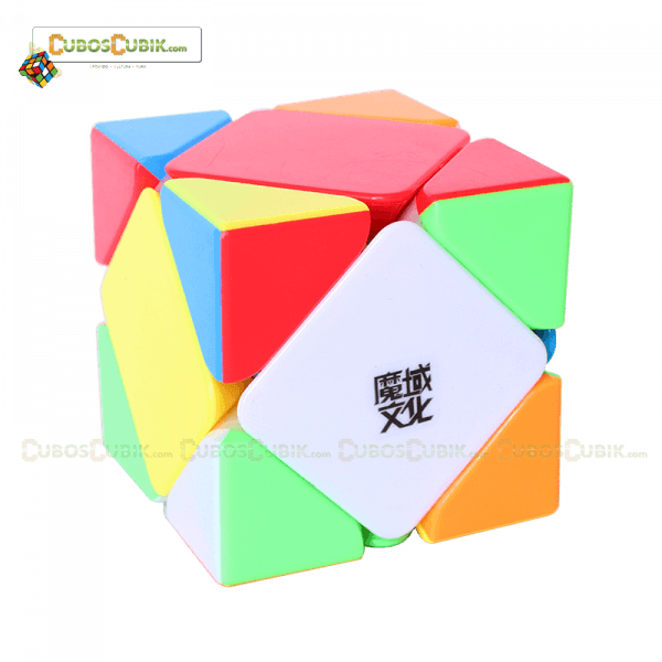 Cubos Rubik Moyu Skewb Magnetic Colored