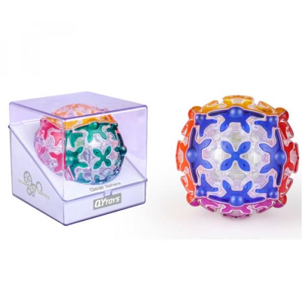 Cubos Rubik Qiyi Gear Sphere Ball Transparente