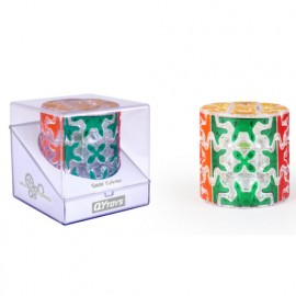 Cubos Rubik Qiyi Gear Column Barrel Transparente