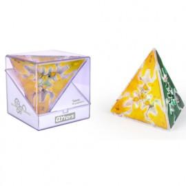 Cubos Rubik Qiyi Gear Pyraminx Transparente