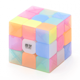 Cubos Rubik QiYi Jelly 3x3 Warrior