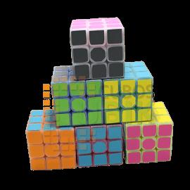 Cubos Rubik Qiyi Jelly Forzado 3x3 Distintos Colores