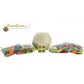 Cubos Rubik MoFangGe Megaminx Galaxy 4 en 1