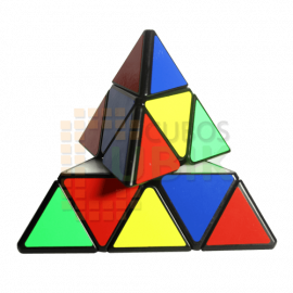 Cubos Rubik Qiyi MS Magnético Pyraminx Negro