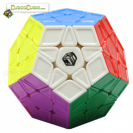 Cubos Rubik MoFangGe Megaminx Galaxy Ridges Colored