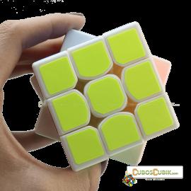 Cubo Rubik MoFangGe 3x3 Tornado Base Blanca