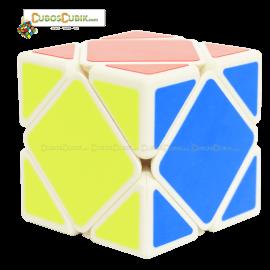 Cubos Rubik MoFangGe Skewb Base Blanco