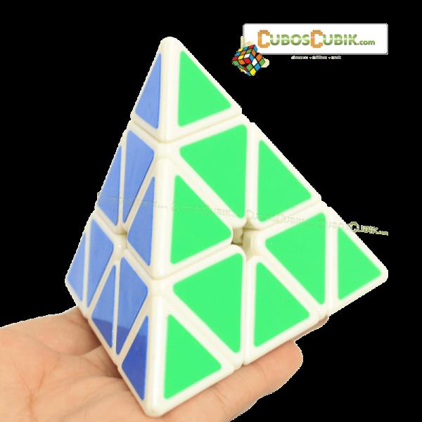 Cubos Rubik MoFangGe Pyraminx Base Blanca
