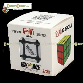 Cubo Rubik MoFangGe 3x3 Sail 6.8 cm Base Negra