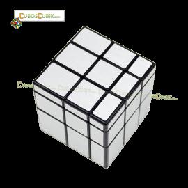 Cubos Rubik MoFangGe Qiyi Mirror 3x3 Plata