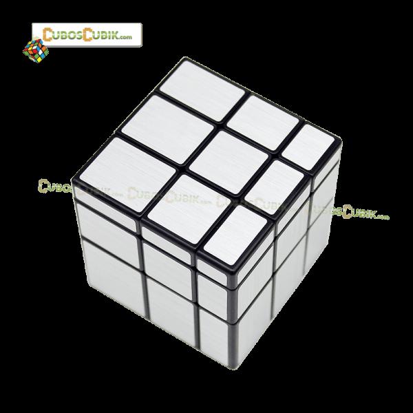 Cubos Rubik MoFangGe Mirror 3x3 Plata